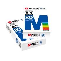 晨光 M&G A3复印纸 80g (白色) 500张/包 5包/箱