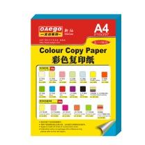 文仪易购 OAEGO 彩色复印纸 A4 80g (浅绿色) 100张/包