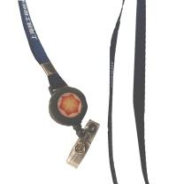 国产 定制挂绳+易拉扣 深蓝色 带logo 挂绳单色印刷 500套起订(DZ)  核工院链接