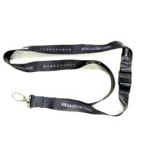 国产 挂绳黑色(DZ) 金属扣、塑料安全扣、双色logo,尺寸2cm*45cm (黑色) 100条/捆 DZ 百度链接