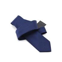 forevernow商务领带8cm暗纹ZGF9910深蓝条纹