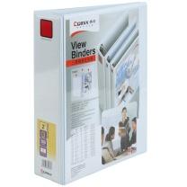 齐心 Comix 封面目录册文件夹 3寸3孔 A0235 A4 (白色)