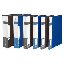 易达 Esselte 通用型资料册 87005 A4 100页 (蓝色) 6个/箱