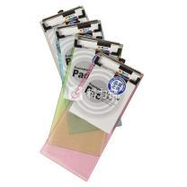 晨光 M&G 票据式透明板夹 ADM94513 110*233mm (红色、蓝色、绿色、白色) (颜色随机)