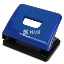得力 deli 二孔打孔机 0105 15张 孔径6mm 孔距80mm (黑色、蓝色、红色) 6个/包 72个/箱 (6个起订)