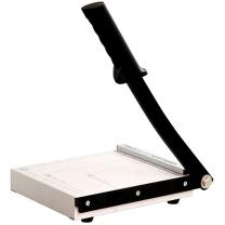 得力 deli 钢制切纸刀 8016 A5 200*180mm 可裁15张 (白色)