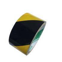 国产 反光斑马警示胶带 48mm*25Y (黄黑色)