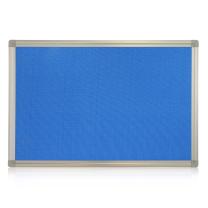 亿裕 铝合金边框软木板(包蓝布) JD-7 1200*1800mm  (不含支架)