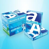 达伯埃 Double A 复印纸  70g克 A4打印 500张/包 5包/箱 小包装