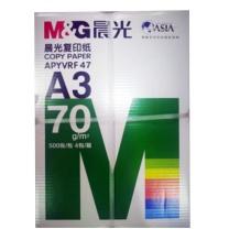 晨光 M&G 复印纸 APYVRF47 A370g 4包装 (白色)