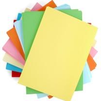 传美 TRANSMATE 浅黄 80G 500张/包 单包销售 复印纸 彩色纸 宣传纸 手工纸 A5 80G 210*148.5mm