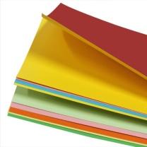 易利丰 硬卡纸 无 包 (混色) 彩色手工卡纸 250克A3彩色硬卡纸 10色各5张 50张/包
