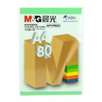 晨光 M&G 彩色复印纸 APYVPB02 A4 80g (草绿色) 100张/包