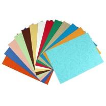国产 皮纹纸 A4 160g (浅黄) 100张/包