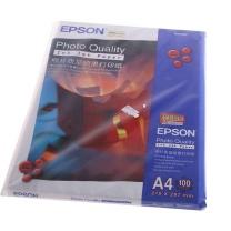 爱普生 EPSON 照片质量喷墨打印纸 S041786 S041061 A4 102g  100张/包 (DC)