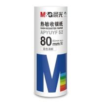 晨光 M&G 热敏收银纸 APYUYF52 80MM*60MM  2卷/筒