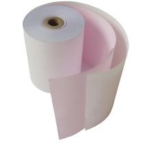 汇东 双层无碳收银纸 宽幅75mm*外径60mm (白红) 100卷/箱