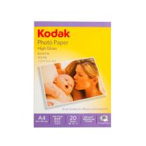 柯达 Kodak 高光相片纸 230g A4*20张