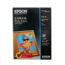 爱普生 EPSON 新一代光泽照片纸 S042552 (白色) 7寸/20张