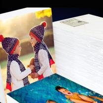 易利丰 背印相纸 8寸 200g  200张/包 (DC)