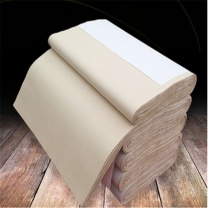 万事达 半生熟元书纸宣纸 70*240cm  100张/卷 纯竹浆小八尺仿古加厚毛边纸书法练习