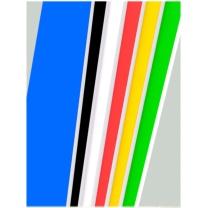炫彩 KT板2.4*0.9m 10张/包 各色 2.4*0.9m 10张