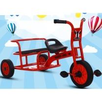 幼儿园三轮车 脚踏车 5107 橡胶轮 1 (红色、黄色)