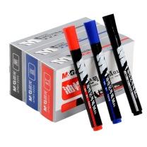 晨光 M&G 油性记号笔 APMY2204 2.0mm (蓝色) 10支/盒