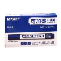 晨光 M&G 可加墨单头白板笔 AWM26301 (蓝色) 10支/盒