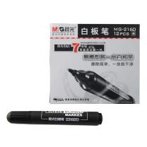 晨光 M&G 白板笔 MG-2160 2.0mm (黑色) 12支/盒 (大包装)