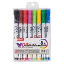 晨光 M&G 白板笔水性可擦笔 彩色 8支装 AWMY2301