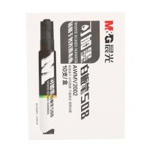 晨光 M&G 经济型可加墨白板笔 AWMV2002 (黑色) 10支/盒