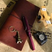 凌美 LAMY 恒星系列墨水笔 F笔尖 (酒红色) 1支/盒 (不含礼盒、礼袋)
