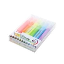 晨光 M&G 星彩荧光笔6色套装 AHMV7602  6支/套