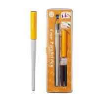 百乐 PILOT 日本百乐美工钢笔 FP3-24-SS 2.4mm (黑色/红色) 笔*1+墨胆*2