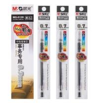 晨光 M&G 中性替芯 MG-6128 0.7mm (红色) 20支/盒 (适用于AGP65501、GP1111、K39、Q7型号中性笔)