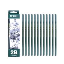 晨光 M&G 2B木杆铅笔 AWP30402 (黑色)