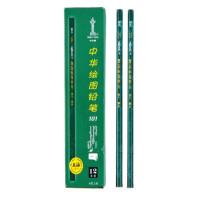 中华 Chung Hwa 铅笔 101-HB 12支/盒  绘图书写铅笔