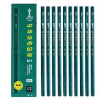 中华 Chung Hwa HB铅笔 101  12支/盒 (大包装)