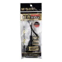 晨光 M&G 经典商务台笔 AGPA5201 0.5mm (黑色) 24支/盒 (替芯:MG-007)