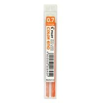 百乐 PILOT 日本百乐彩色活动铅笔芯 PLCR-7-O 0.7mm (橙色) 6根/盒