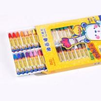 真彩 TRUECOLOR 油画棒 2966A 盒 (彩色) 24色学生六角杆丝滑易上色油画棒儿童蜡笔绘画笔 挂装/2966A