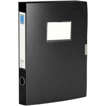 金得利 KINARY 基本色文件盒 F18 A4 36mm/35mm(新老包装转换中) (黑色) 72个/箱