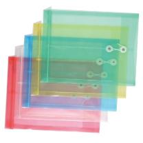 远生 Usign 缠绳文件袋 US-F118 A4 (白色、黄色、蓝色、绿色、红色) 12个/包 (颜色随机)