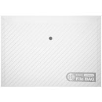 晨光 M&G 斜纹纽扣袋 ADM94517/ADM94584 A4 (红色、蓝色、绿色、白色) 12个/包 (颜色随机)
