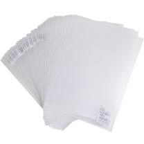 晨光 M&G 二页文件套 ADM94515 A4 (透明白) 30个/包
