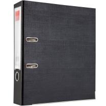 齐心 Comix 半包胶档案夹 A106A A4 3寸 (黑色) 30个/箱