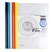 晨光 M&G 抽杆式报告夹 ADM94521 ((红色、蓝色、黄色、绿色、白色)(颜色随机)) (合约)