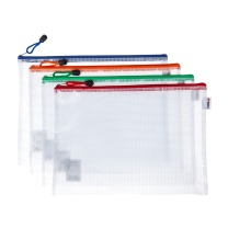 晨光 M&G 普惠型网格拉链袋 ADMN4284 A5  10个/包