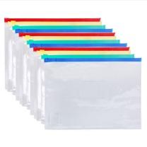 晨光 M&G 拉边袋 ADM94552 A4 (红色、蓝色、黄色、绿色) (颜色随机)